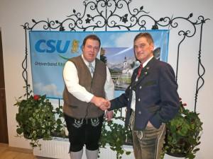CSU-Ramsau Ortsversammlung 2017