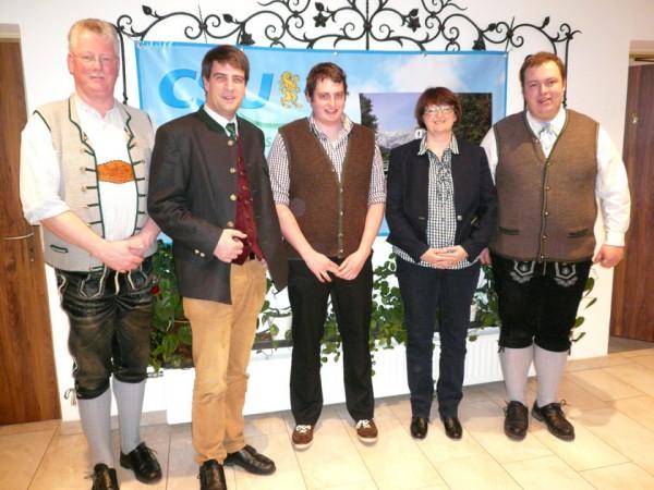 CSU Ramsau - Ortsversammlung-2017