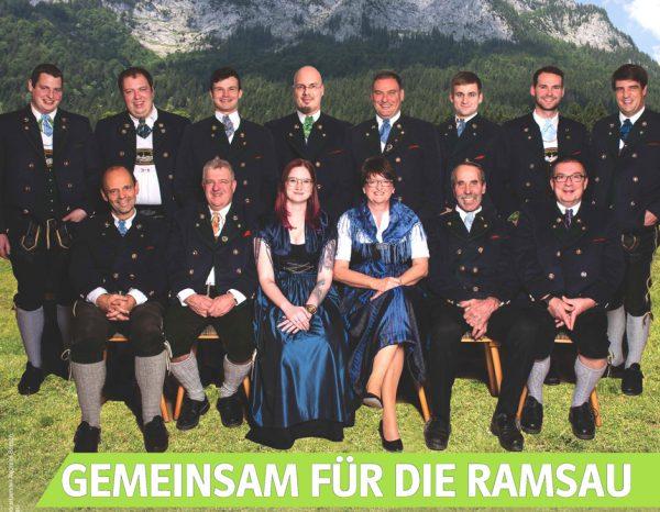 CSU-Ramsau: Kandidaten bei der Kommunalwahl-2020