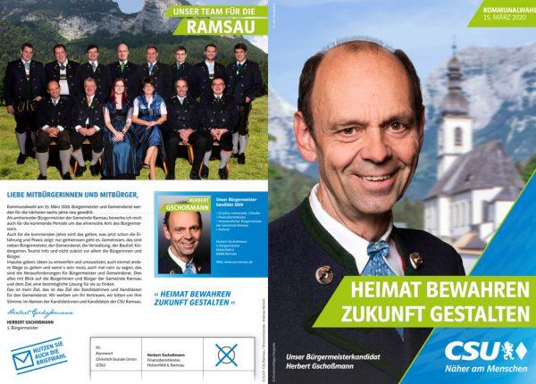 """zum Flyer """"CSU-Ramsau-Kommunalwahl-2020"""""""