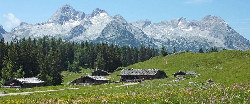 Kallbrunn - im Salzburger Land
